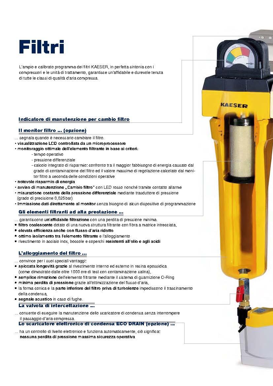 Filtri per aria compressa Kaeser FB-FC-FE-FD-FF-FFG-HP - Airservice24 Snc