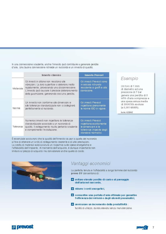 Raccordi di sicurezza Prevost - Airservice24 Snc